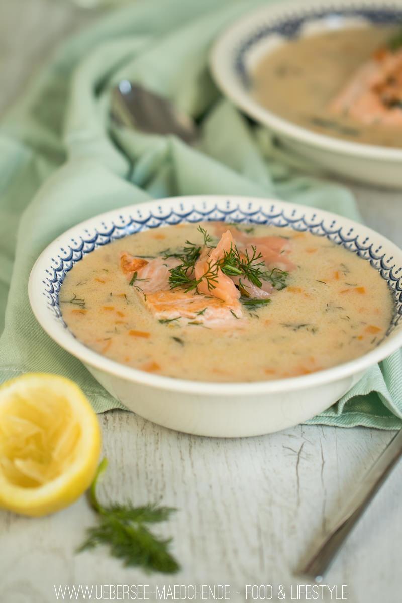Rezept Cremige Fischsuppe mit Lachs