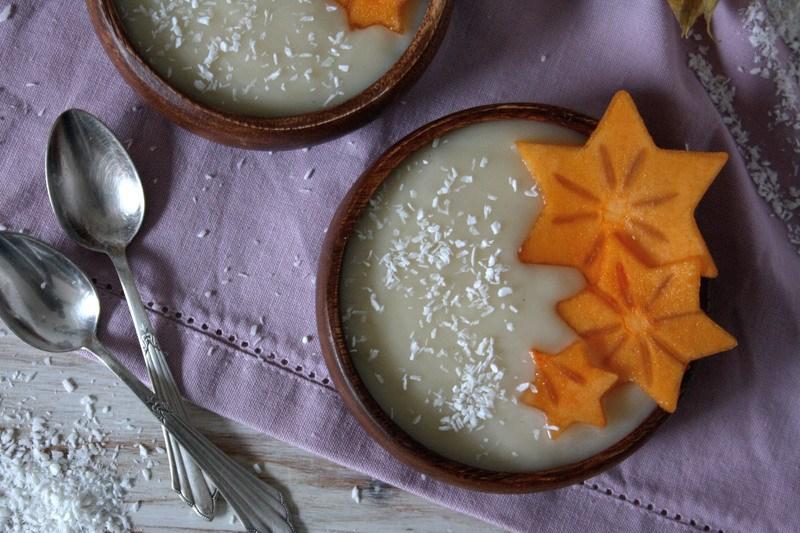 Rezept Cremiger Birnenpudding – schnell & vegan