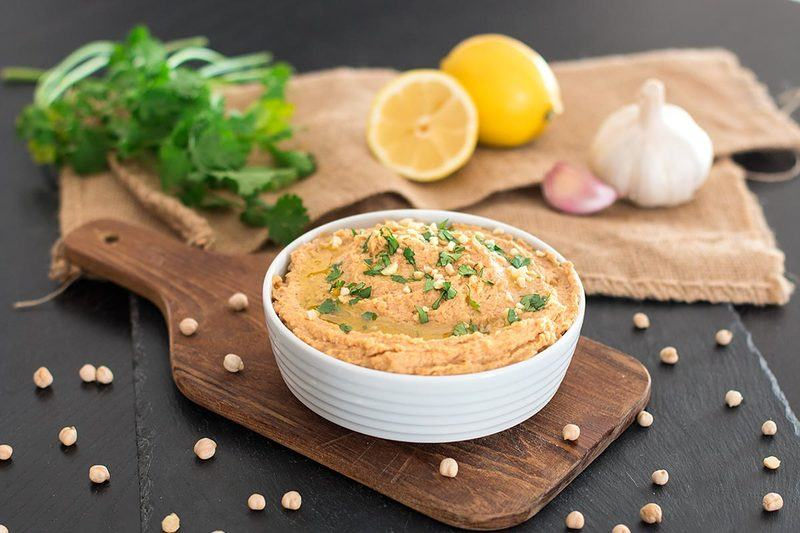 Rezept Cremiger Hummus mit Mandelmus