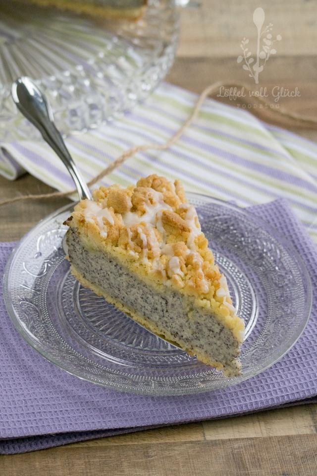 Rezept Cremiger Mohn-Streusel-Kuchen