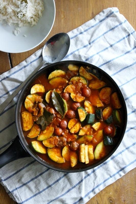 Rezept Cremiges Zucchini - Gulasch