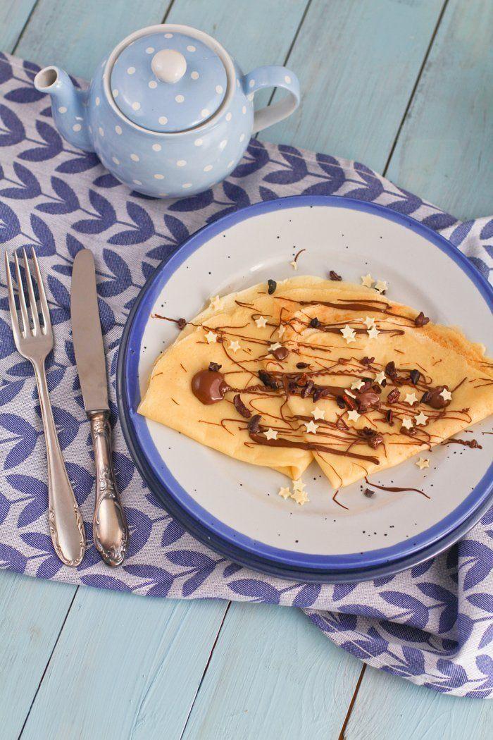 Rezept Crêpes Teig Rezept - Einfaches Grundrezept