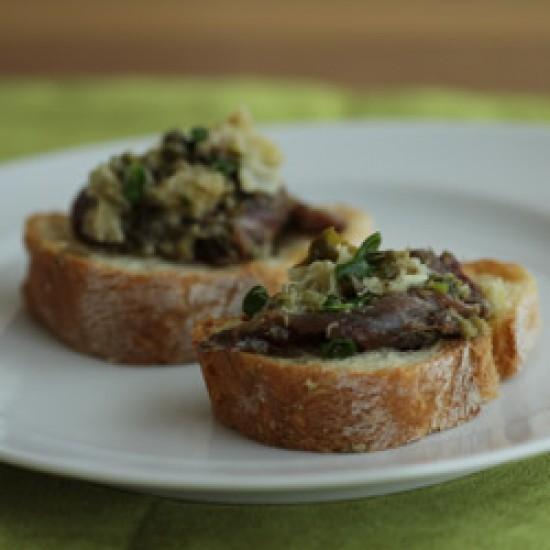 Rezept Crostini alla Toskana