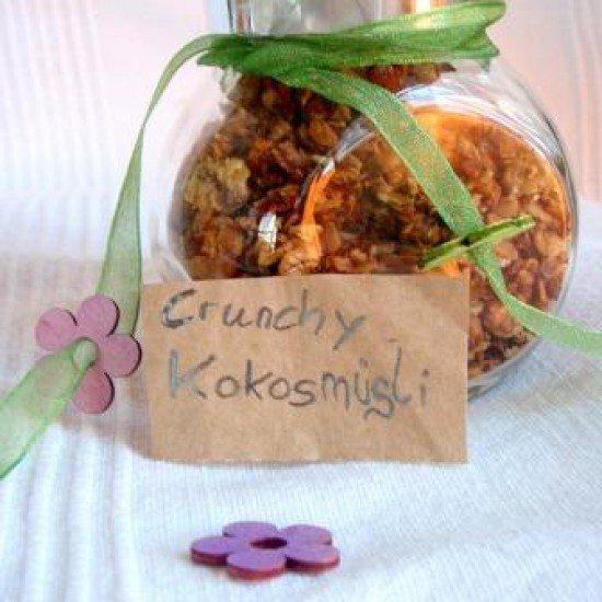 Rezept Crunchy Kokos-Müsli