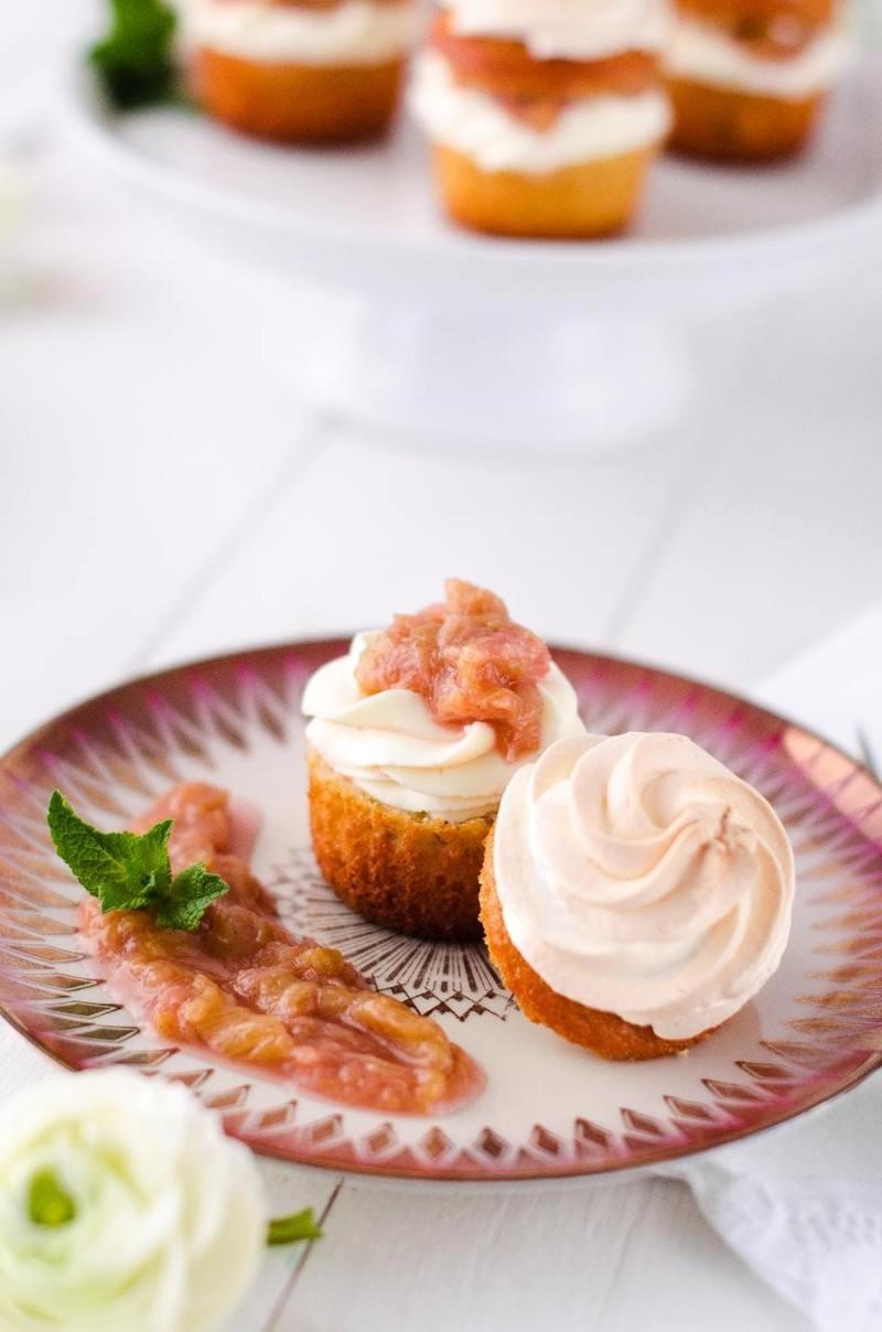 Rezept Cupcakes mit Baiserhaube