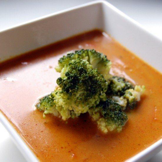 Rezept Curry-Kokos-Suppe mit Gemüse