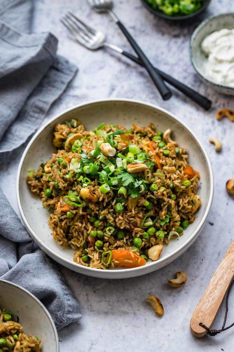 Rezept Curry Reis mit Gemüse