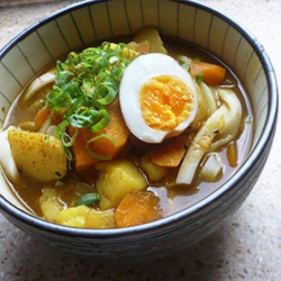 Rezept Curry-Udon mit Gemüse