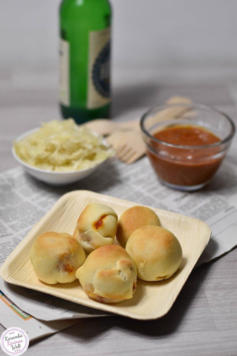 Rezept Currywurst Balls