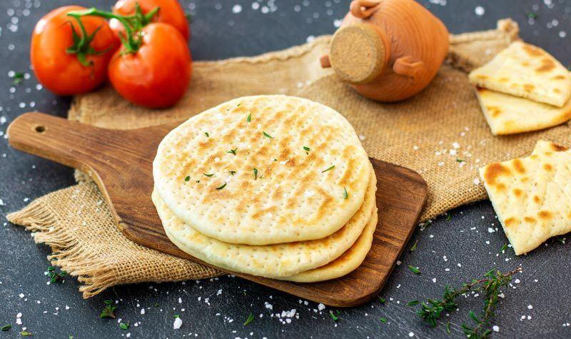 Rezept Da beste griechische Pita-Brot (Fladenbrot)