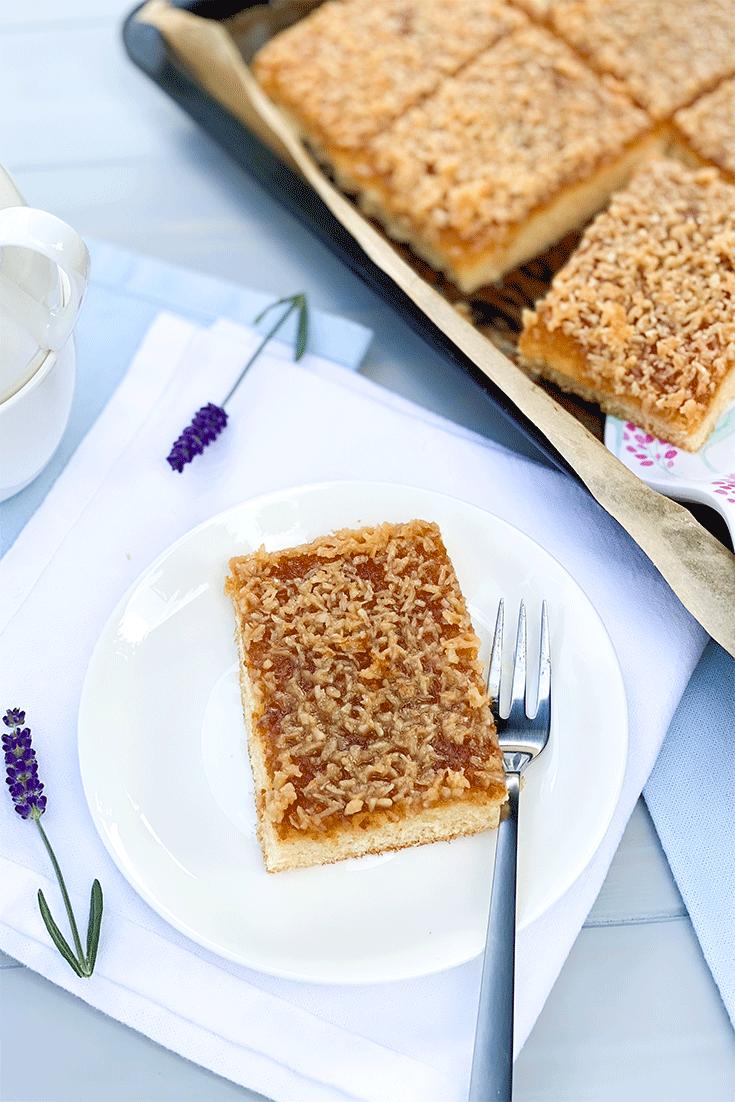 Rezept Dänischer Traumkuchen – Drømmekage