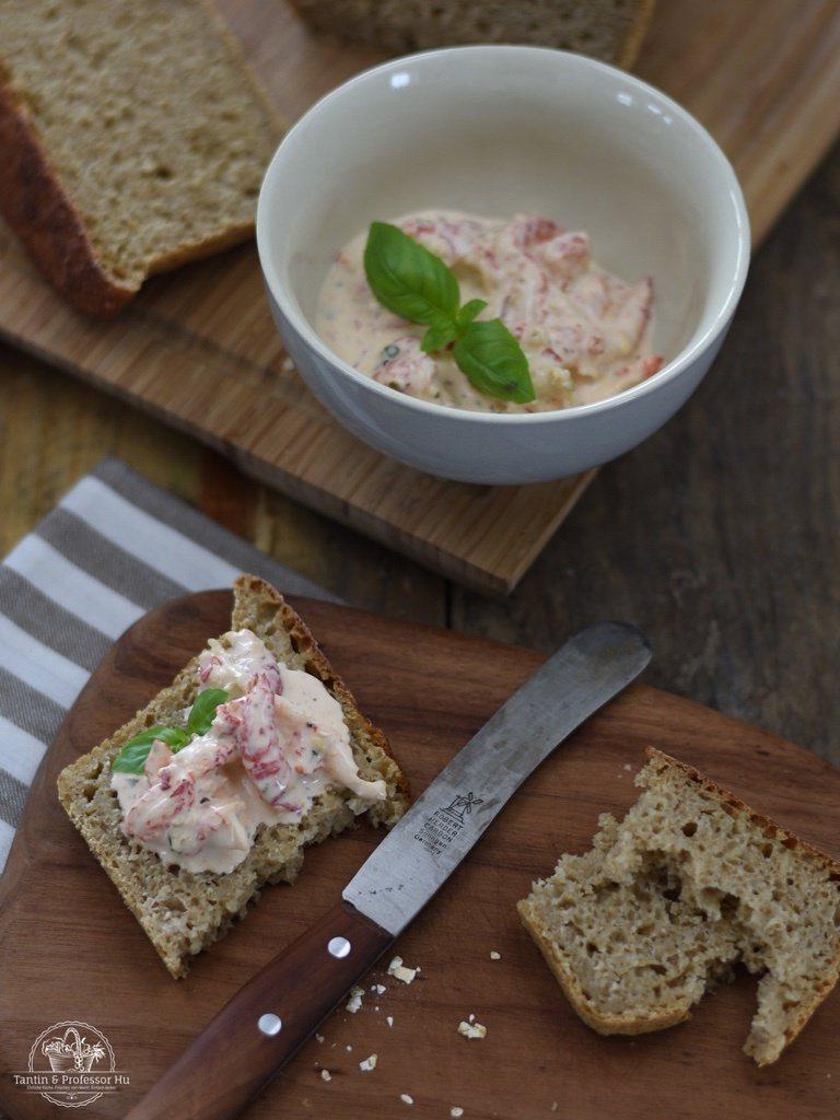 Rezept Dänisches Vollkornbrot & Krebsfleisch-Salat