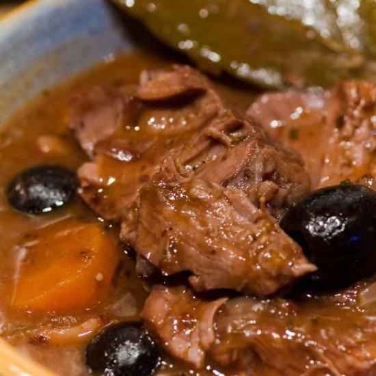 Rezept Daube de boeuf à la provençale