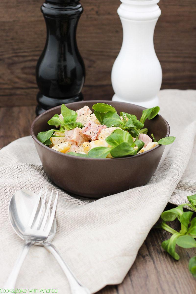 Rezept Deftiger Kartoffelsalat mit Speck