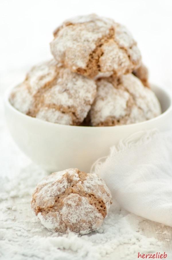 Rezept Der Keks mit dem weichen Herz - Amaretti
