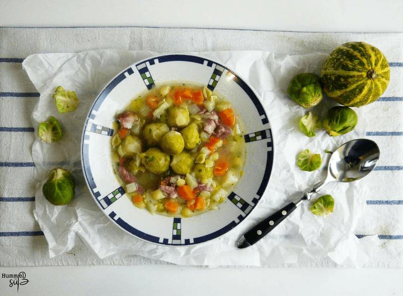 Rezept Dicke Gemüsesuppe, mit Kasseler und Nudeln