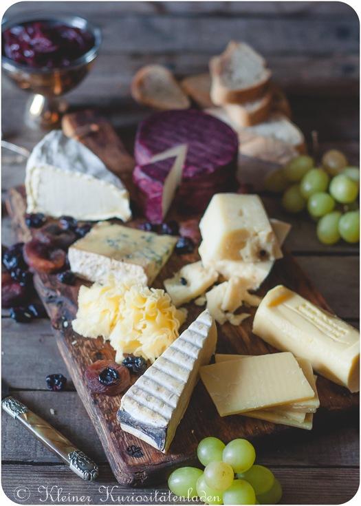 Rezept Die perfekte Käseplatte