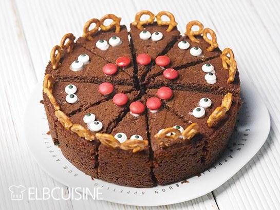Rezept Die perfekte Weihnachtstorte – Rudolf the Red Nose!