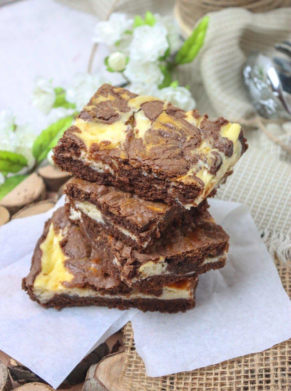 Rezept Die saftigsten Cheesecake-Brownies