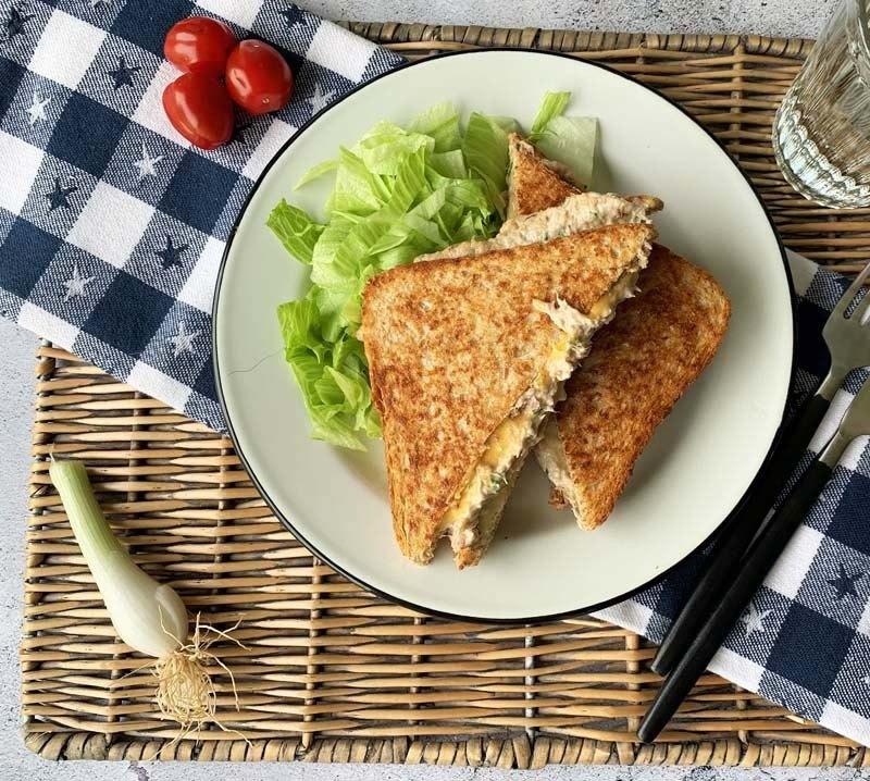 Rezept Diner Style Tuna Melt