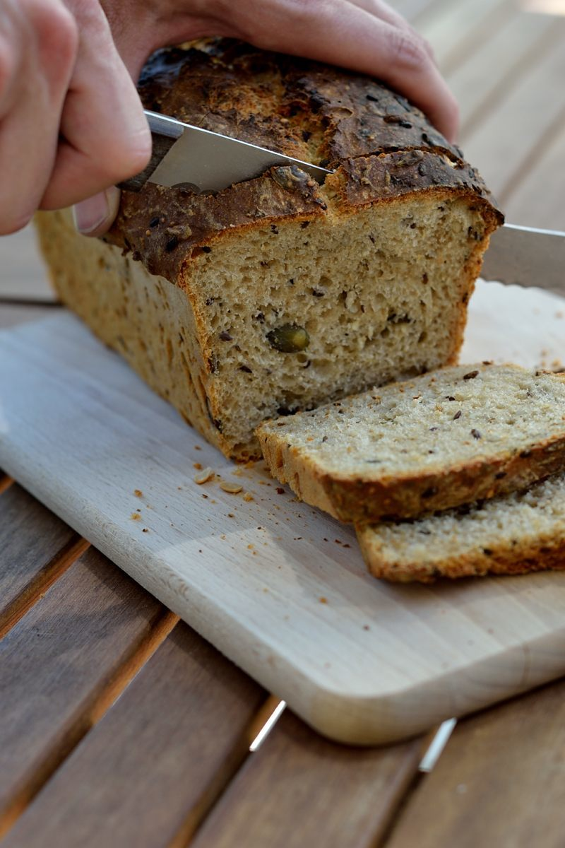 Rezept Dinkel-Saaten-Brot