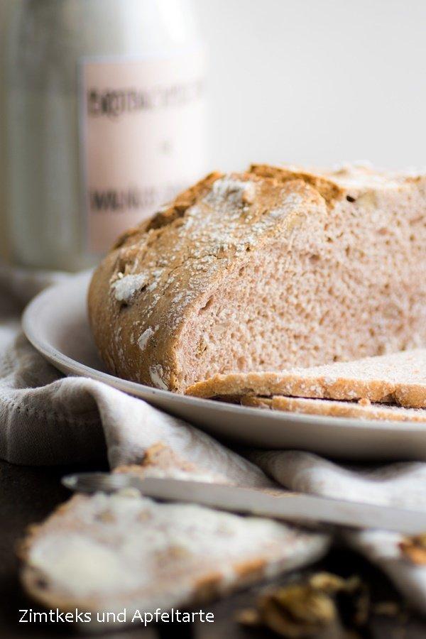 Rezept Dinkel-Walnuss-Brot zum Backen und als Backmischung