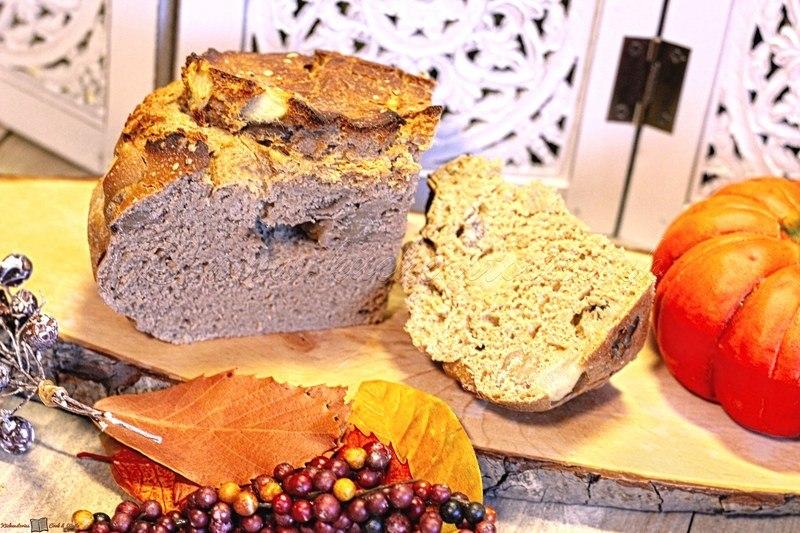 Rezept Dinkelbrot mit Birnen und Marroni