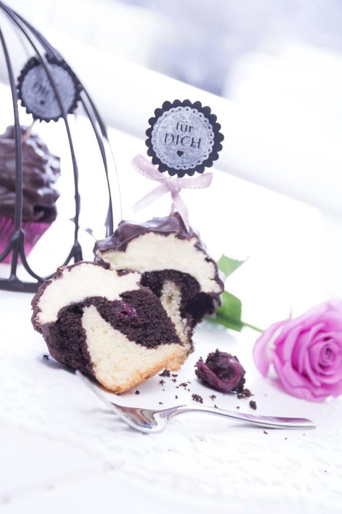 Rezept Donauwellen-Cupcakes