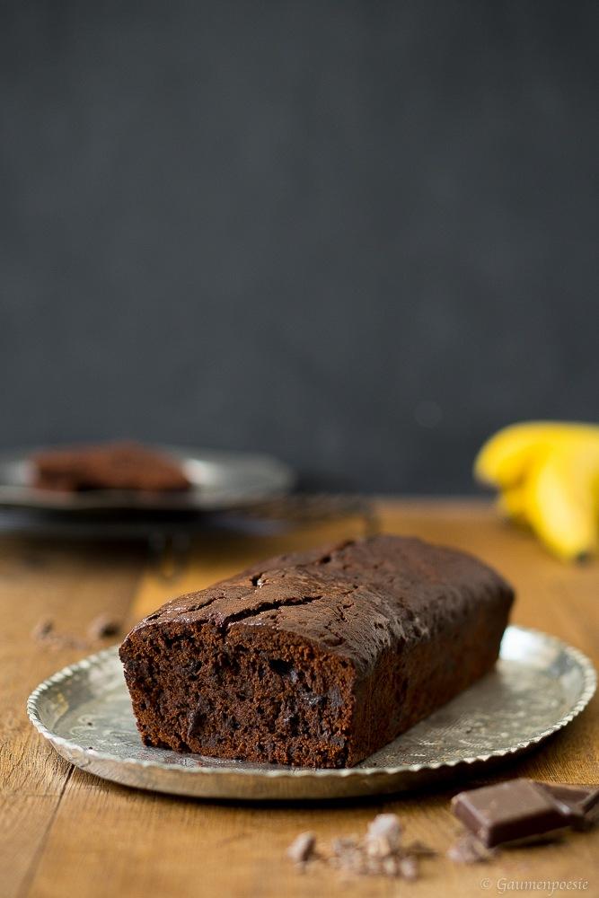 Rezept Double Chocolate Banana Bread