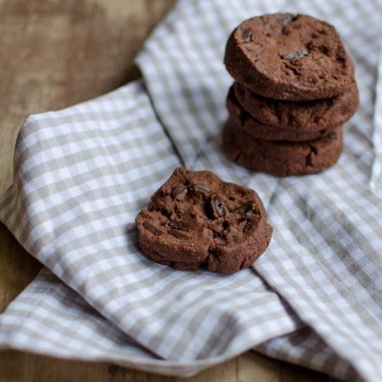 Rezept Double Chocolate Chip Cookies