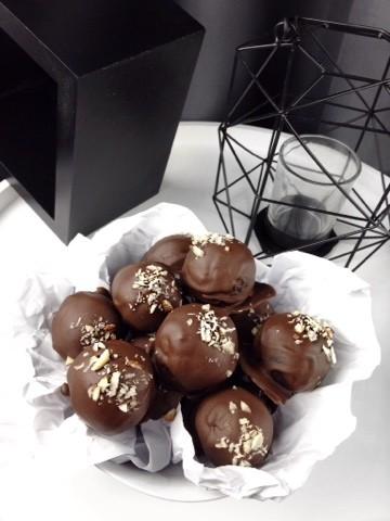 Rezept Double Chocolate Pralinen
