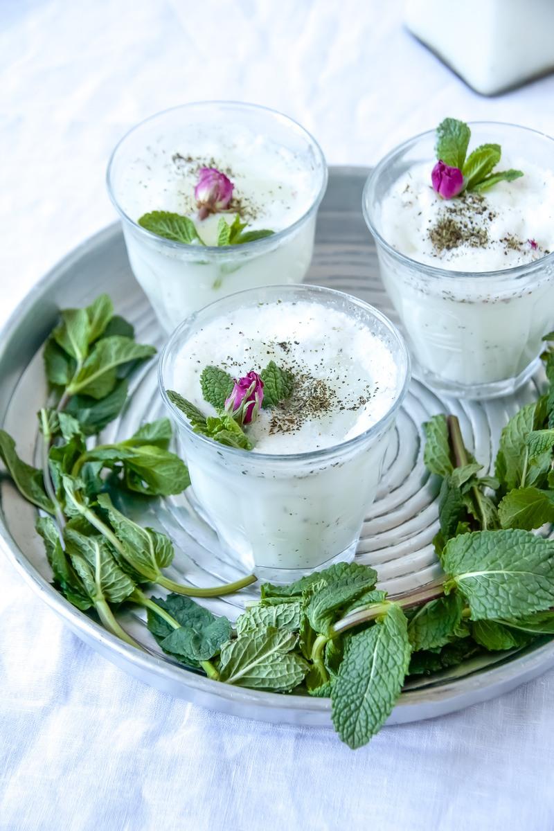Rezept Dugh - persisches Nationalgetränk mit selbst gemachtem Joghurt