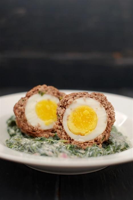Rezept Eier im Hackfleischmantel