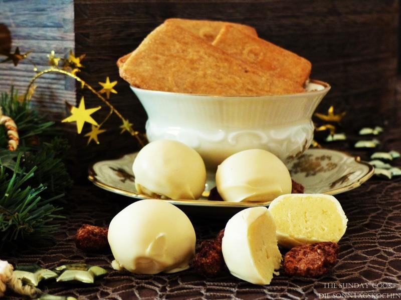 Rezept Eierlikör Pralinen mit weisser Schokolade