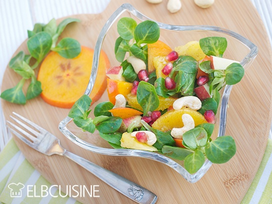 Rezept Ein guter Start ins neue Jahr mit einem süßen, grünen Detox-Salat zum Frühstück! // Werbung