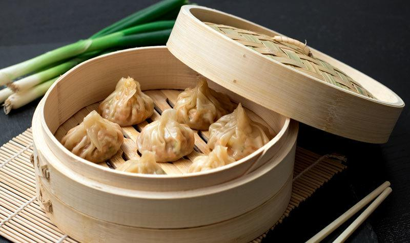 Rezept Einfache Jiaozi mit Garnelenfüllung
