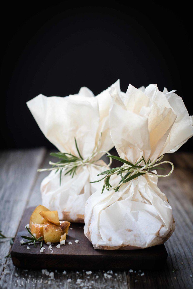 Rezept Einfache Kartoffelpäckchen für den Grill und Ofen