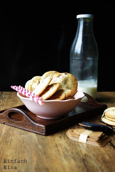Rezept Einfache KitKat Cookies