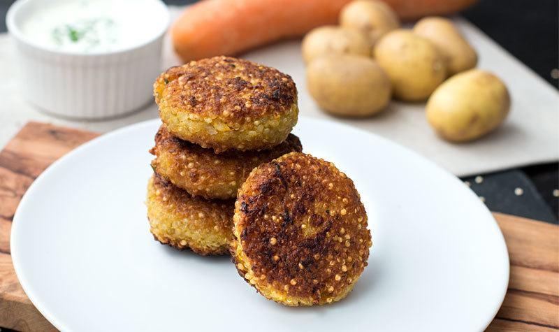 Rezept Einfache Quinoa-Frikadellen