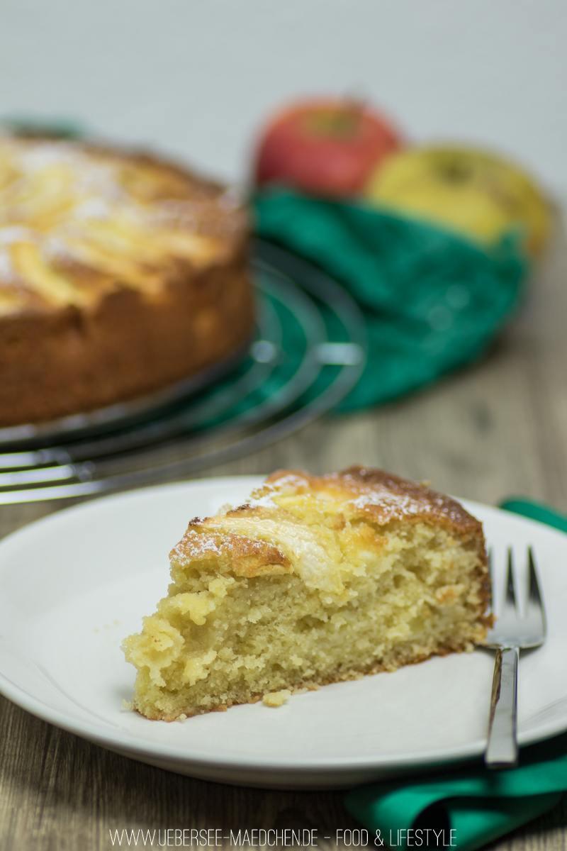 Rezept Einfacher Apfelkuchen mit Rührteig
