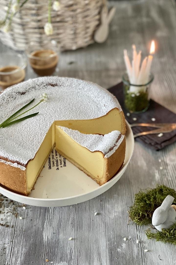 Rezept Einfacher Zitronen-Mascarpone-Käsekuchen