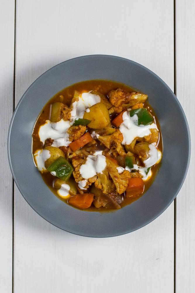 Rezept Einfaches Indisches Gemüse Curry