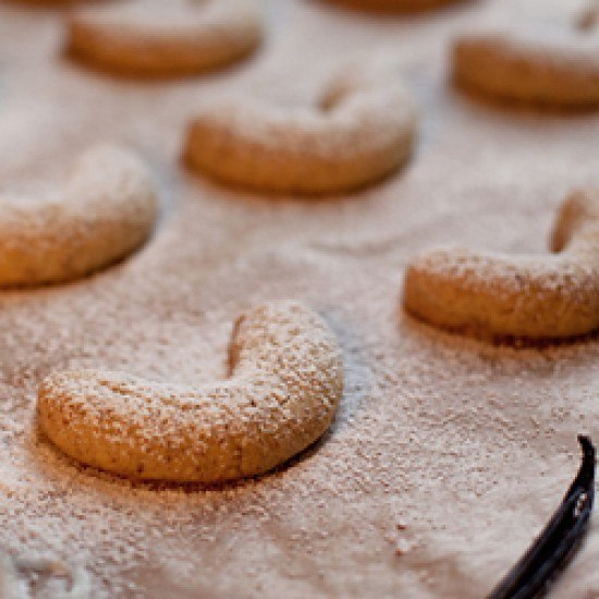Rezept Einfaches Vanillekipferl-Rezept