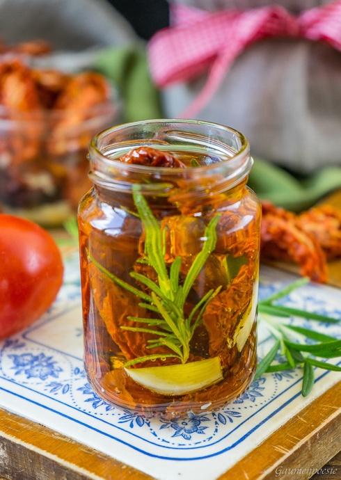 Rezept Eingelegte getrocknete Tomaten – Pomodori secchi sott'olio