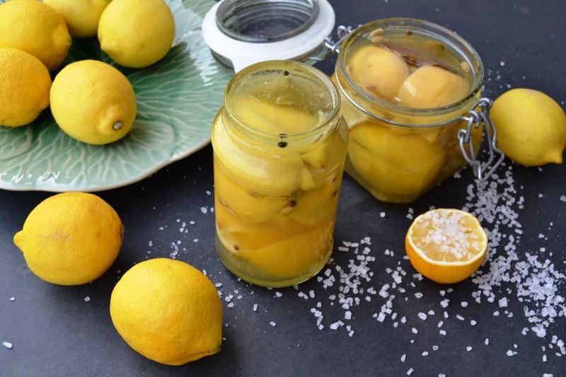 Rezept Eingelegte Zitronen - Salzzitronen