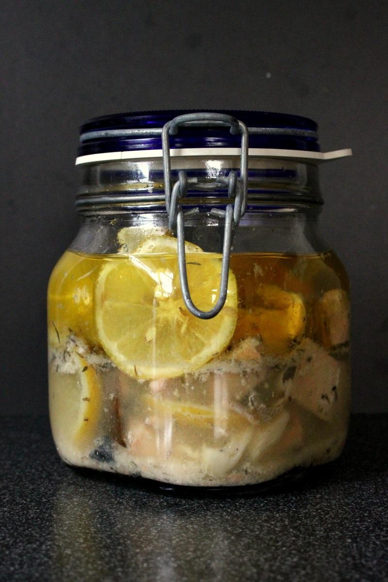 Rezept Eingelegter Lachs