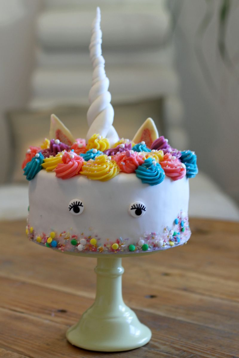 Rezept Einhorn Torte