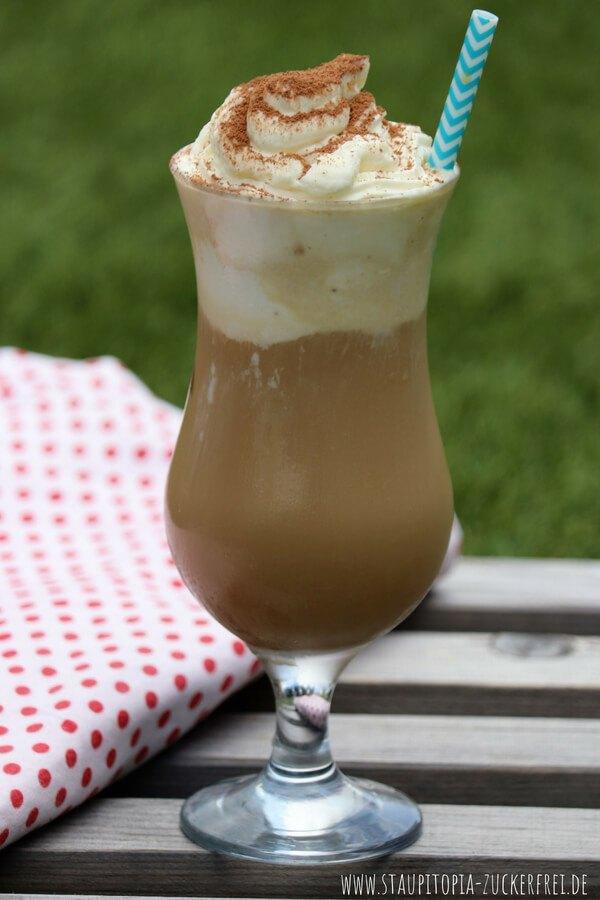 Rezept Eiskaffee ohne Zucker