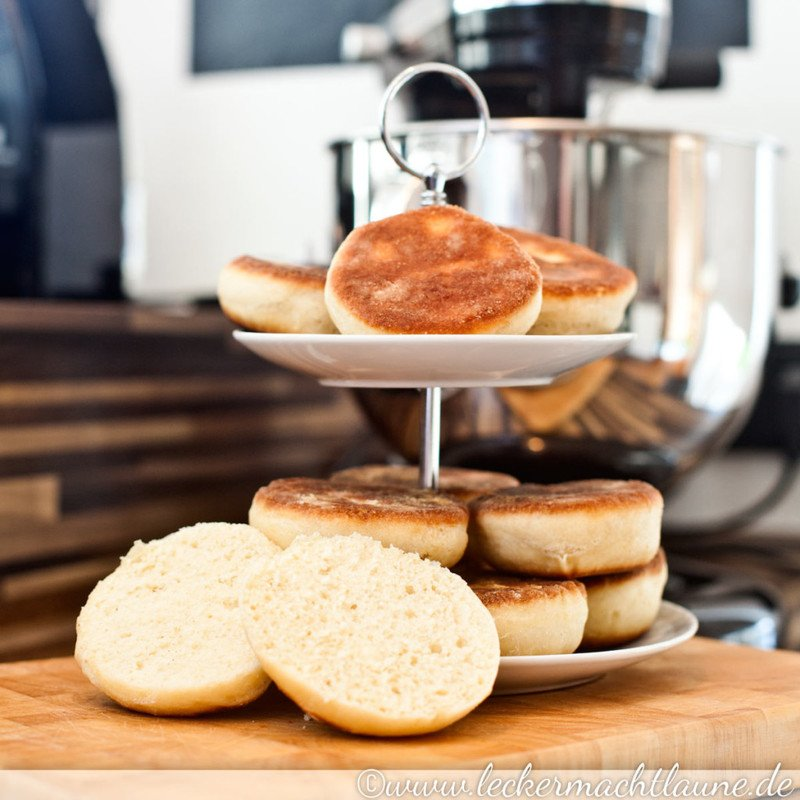 Rezept Englische Muffins