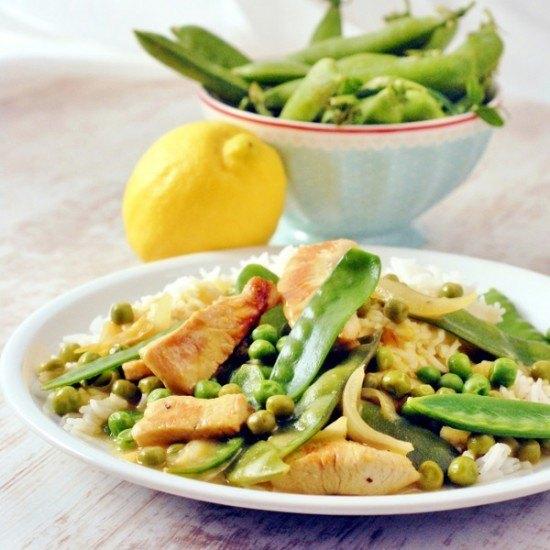 Rezept Erbsen-Curry mit Kokosmilch
